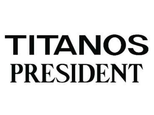 チタノスプレジデントロゴ