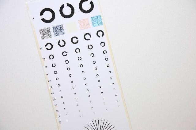 屋 視力 検査 眼鏡