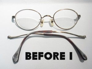 職人の技 メガネのリペアで元通りの艶に写真