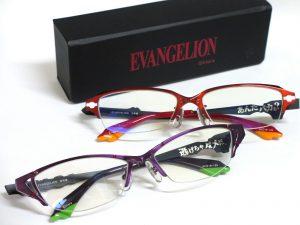 エヴァンゲリオンコラボ眼鏡、限定入荷!写真